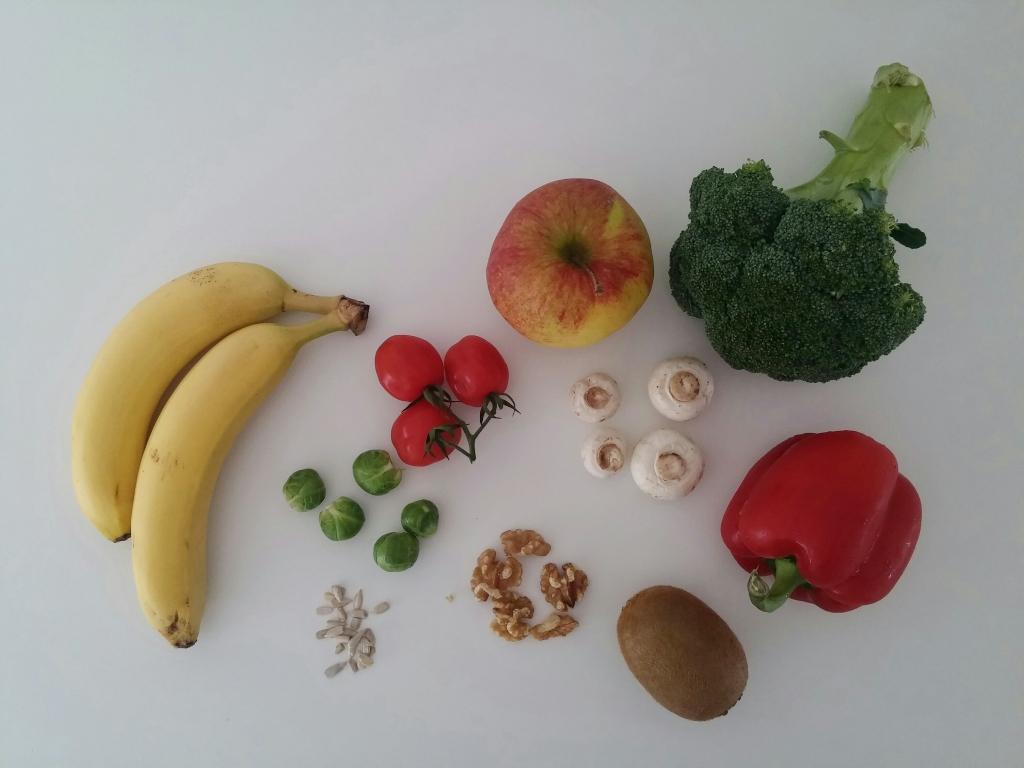 gezonde voeding en afvallen